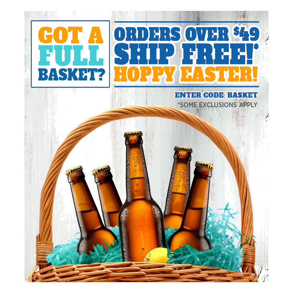 FREE SHIPPING ON ORDERS OVER $49 NorthernBrewer.com Promo Code Coupon Code