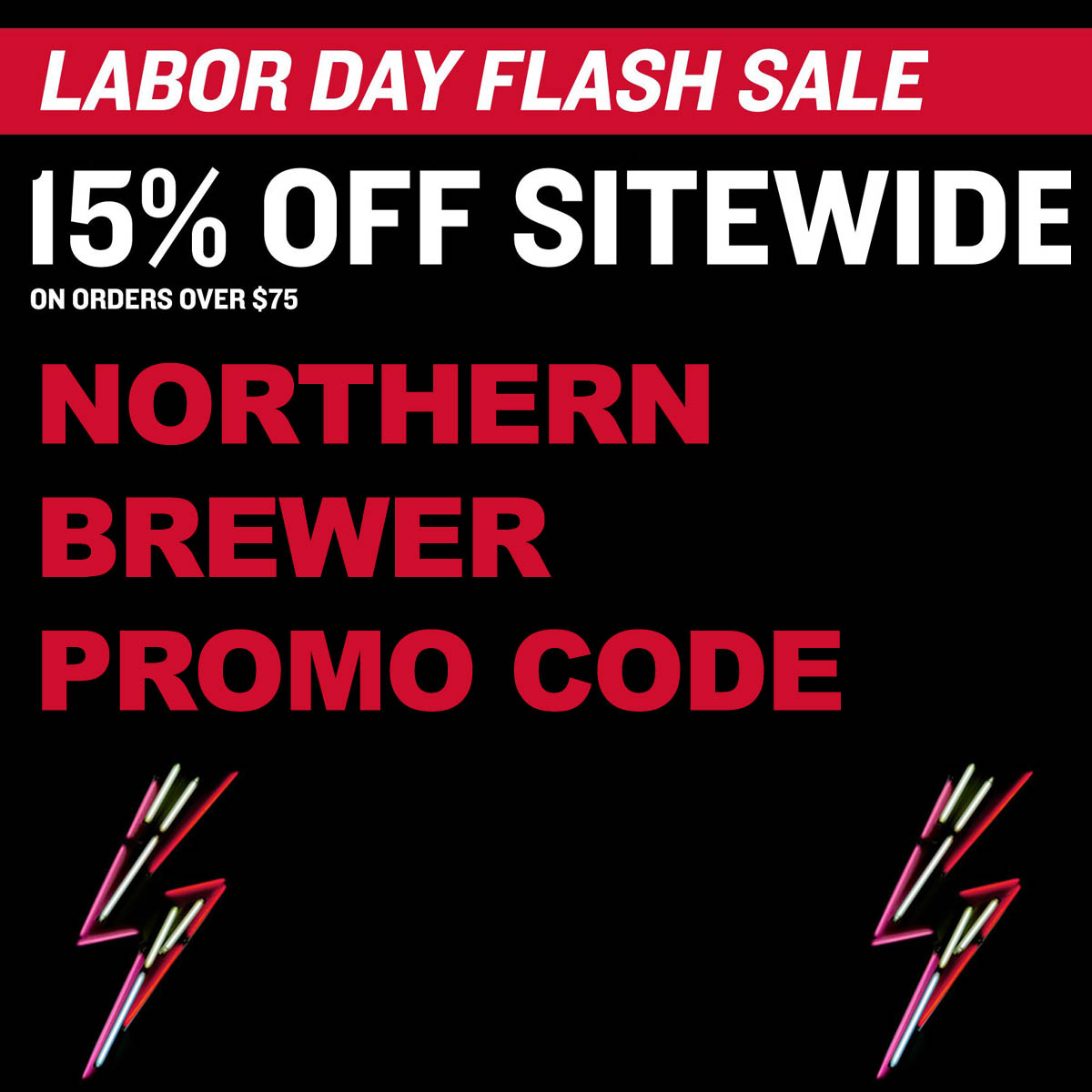 Northern Brewer Save 15% On Orders Over $75 With This Northern Brewer Promo Code Coupon Code