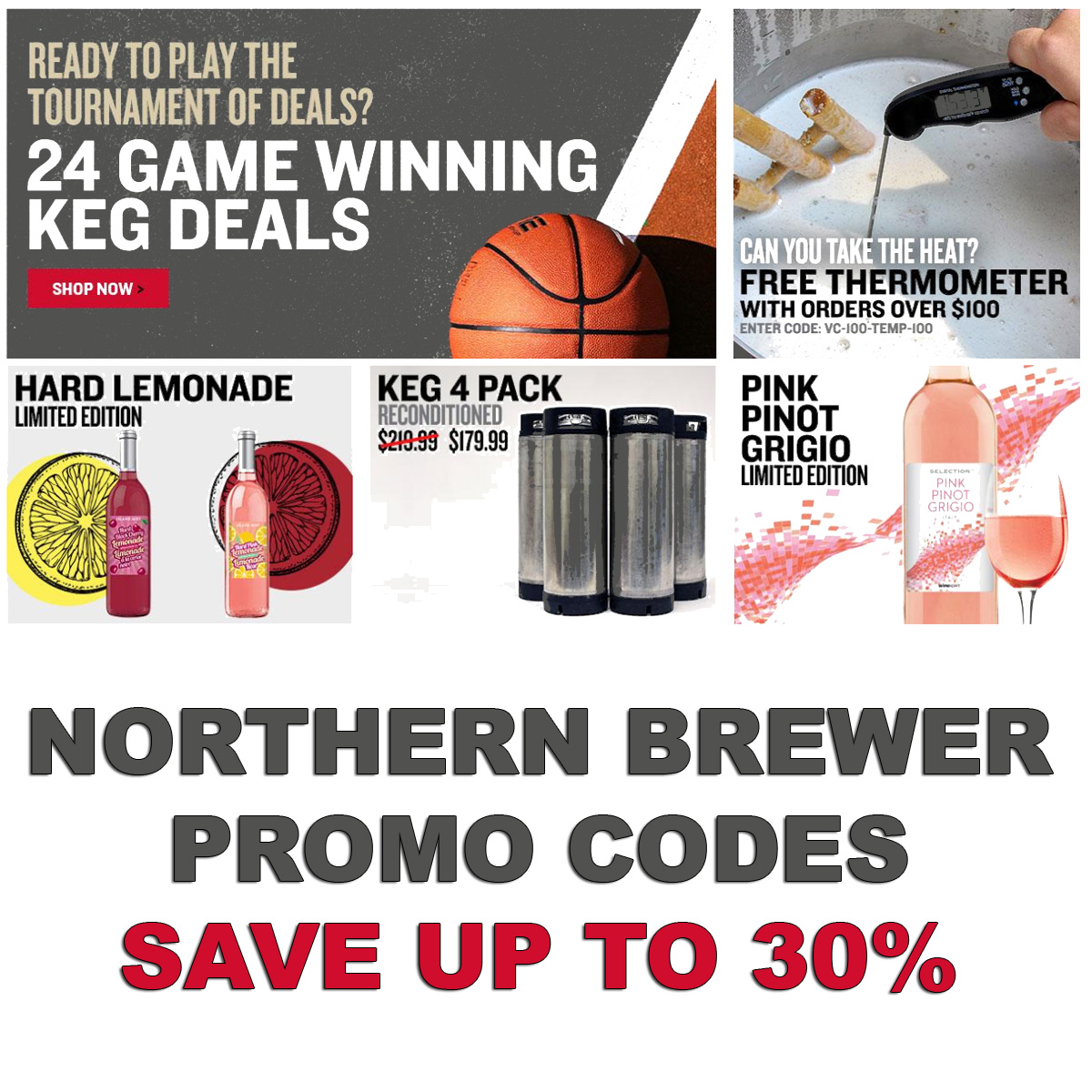 Northern Brewer New Promo Codes for NorthernBrewer.com, save upto 30% Coupon Code
