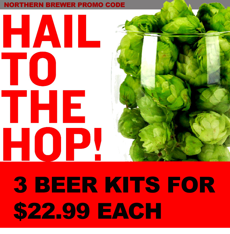 Northern Brewer Get 3 IPA Beer Kits For Just $22 Each with this Northern Brewer Promo Code for August Coupon Code