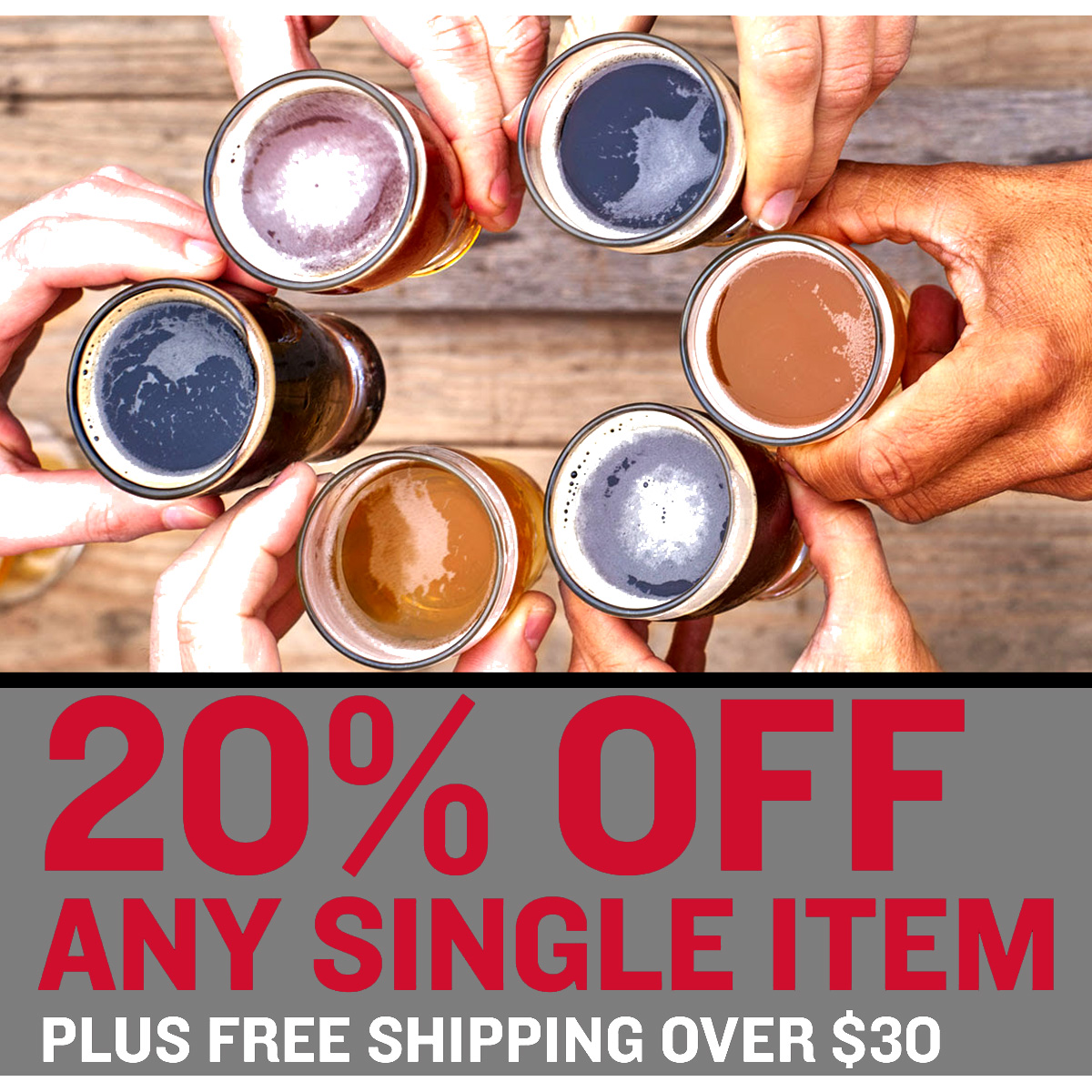 Northern Brewer Save 20% On A Single Item At Northern Brewer With this Promo Code Coupon Code