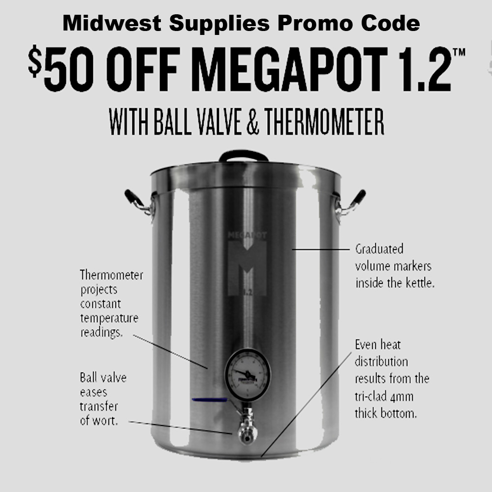 Save $50 On A Fully Loaded Home Brewing Kettle Coupon Code