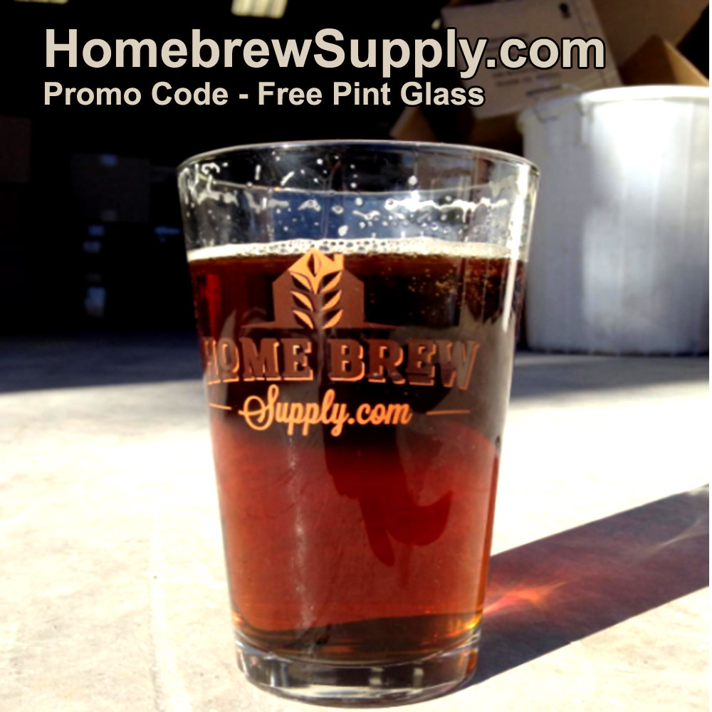 Get a Free Pint Glass When You Purchase A Home Brewing Kit Coupon Code
