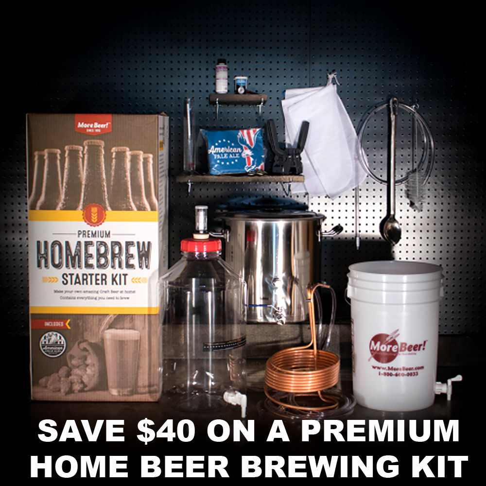 Save $40 On A Premium Homebrewing Kit Coupon Code