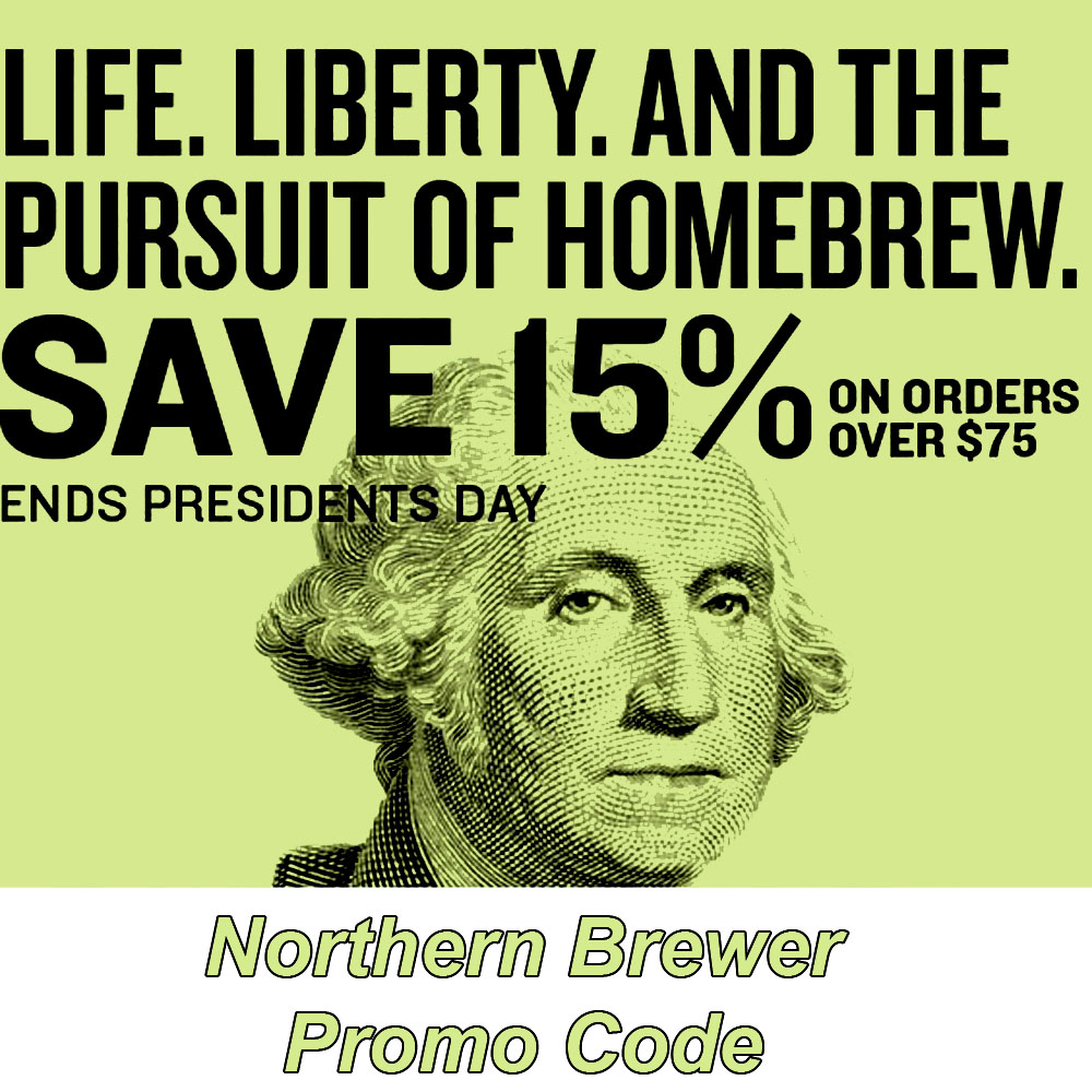 Save 15% On Orders Over $75 at Northern Brewer Coupon Code