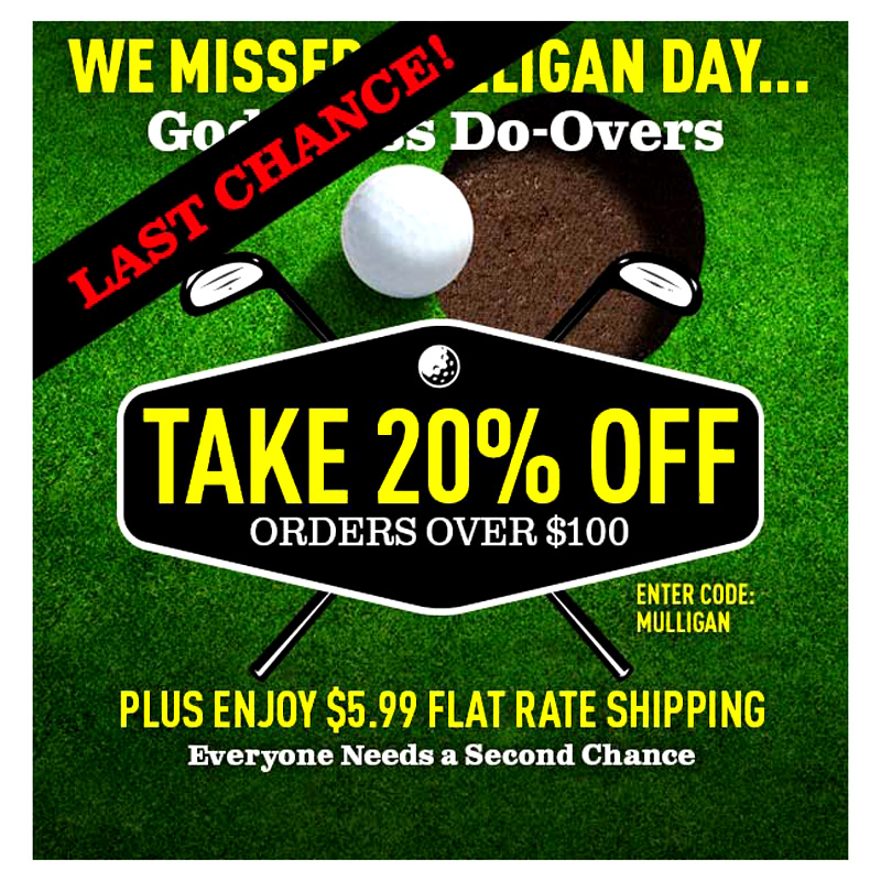 Discount coupons for mulligans