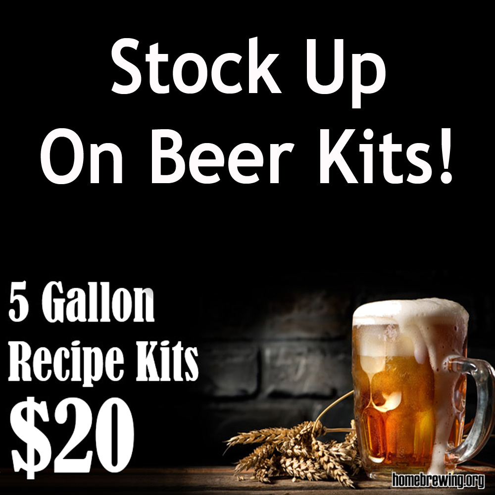 Just $20 for Home Brewing Beer Kits! Sale