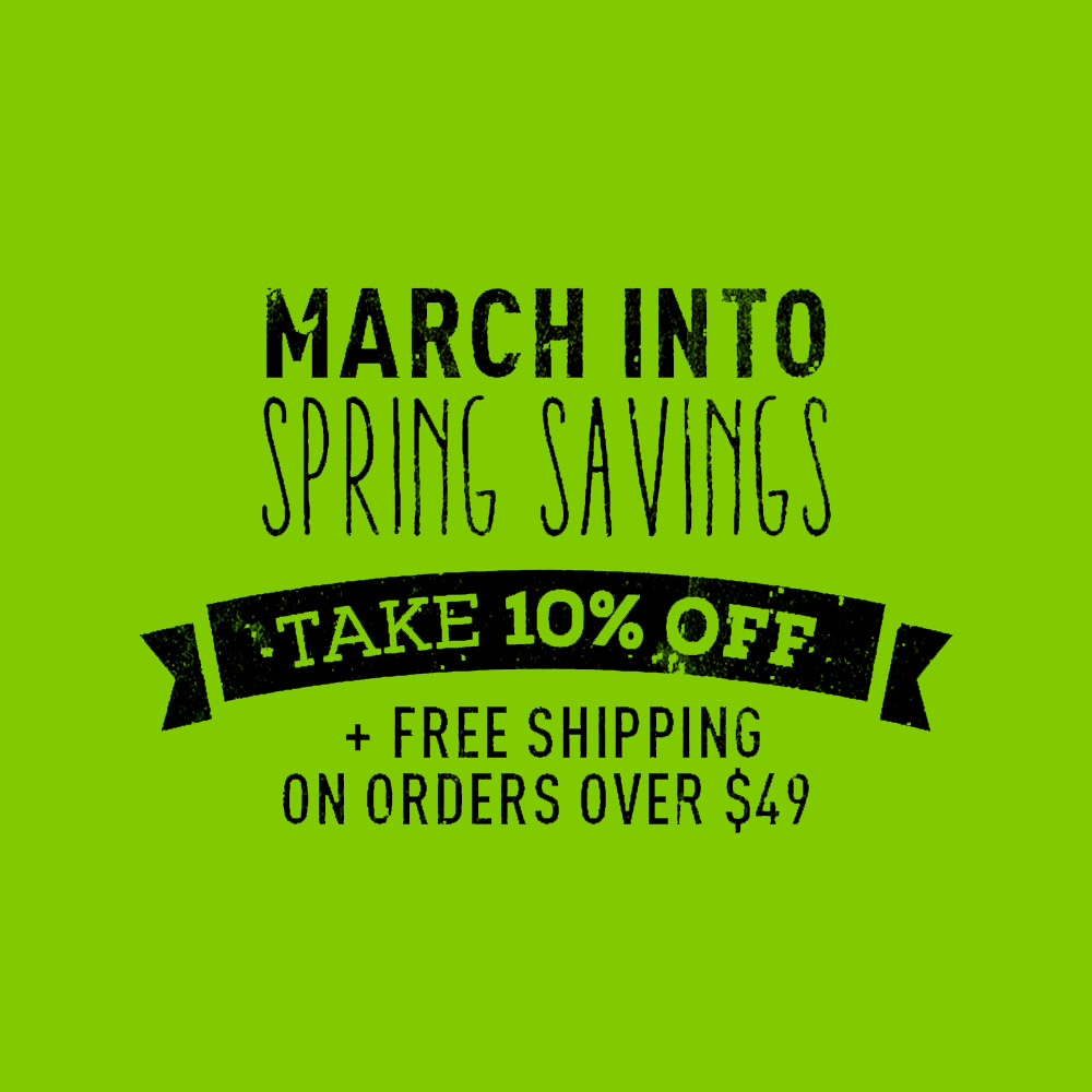 10% OFF SITE WIDE AND FREE SHIPPING OVER $49 Coupon Code