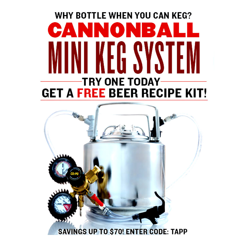 Get a Free Beer Kit With the Purchase of A Draft Beer System Coupon Code