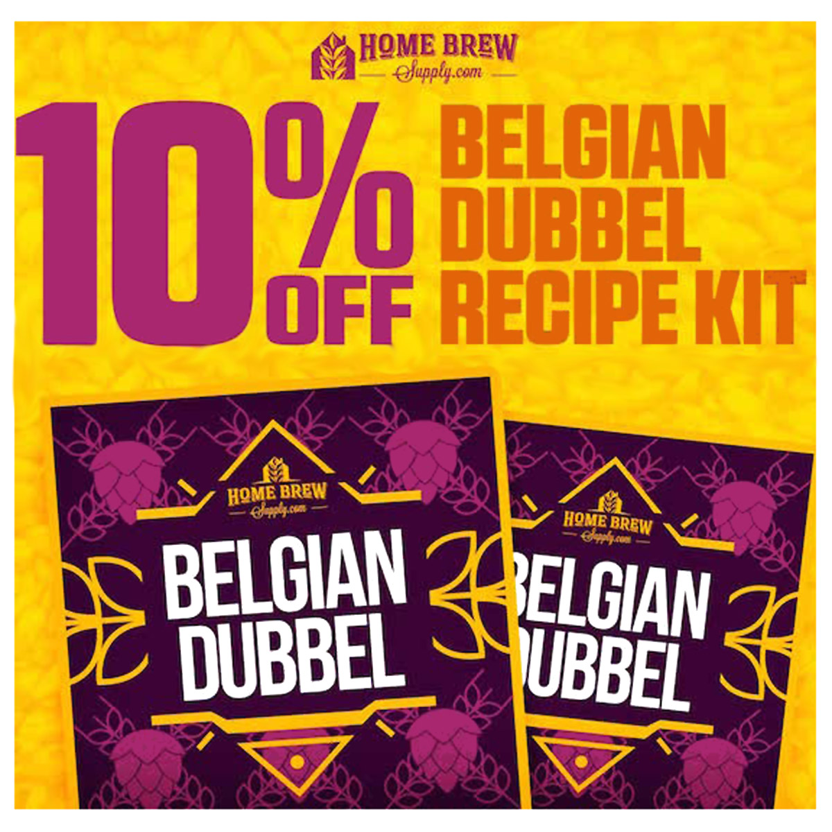 Save 10% On A Belgian Dubbel Recipe Kit Promo Codes