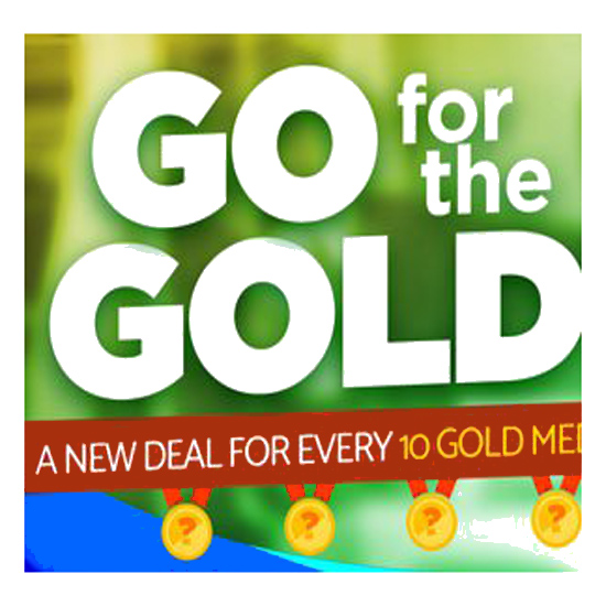 Homebrew Supply Go For the Gold Sale Coupon Code