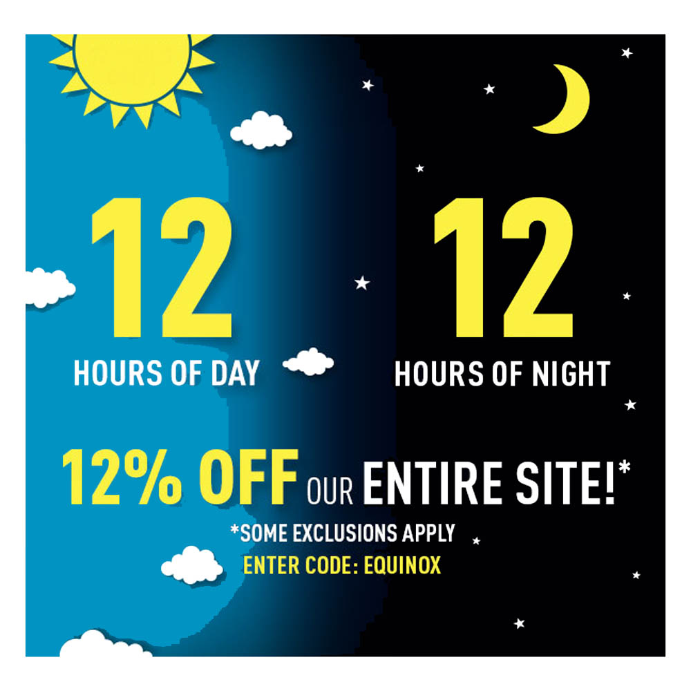 12% OFF SITE WIDE Coupon Code