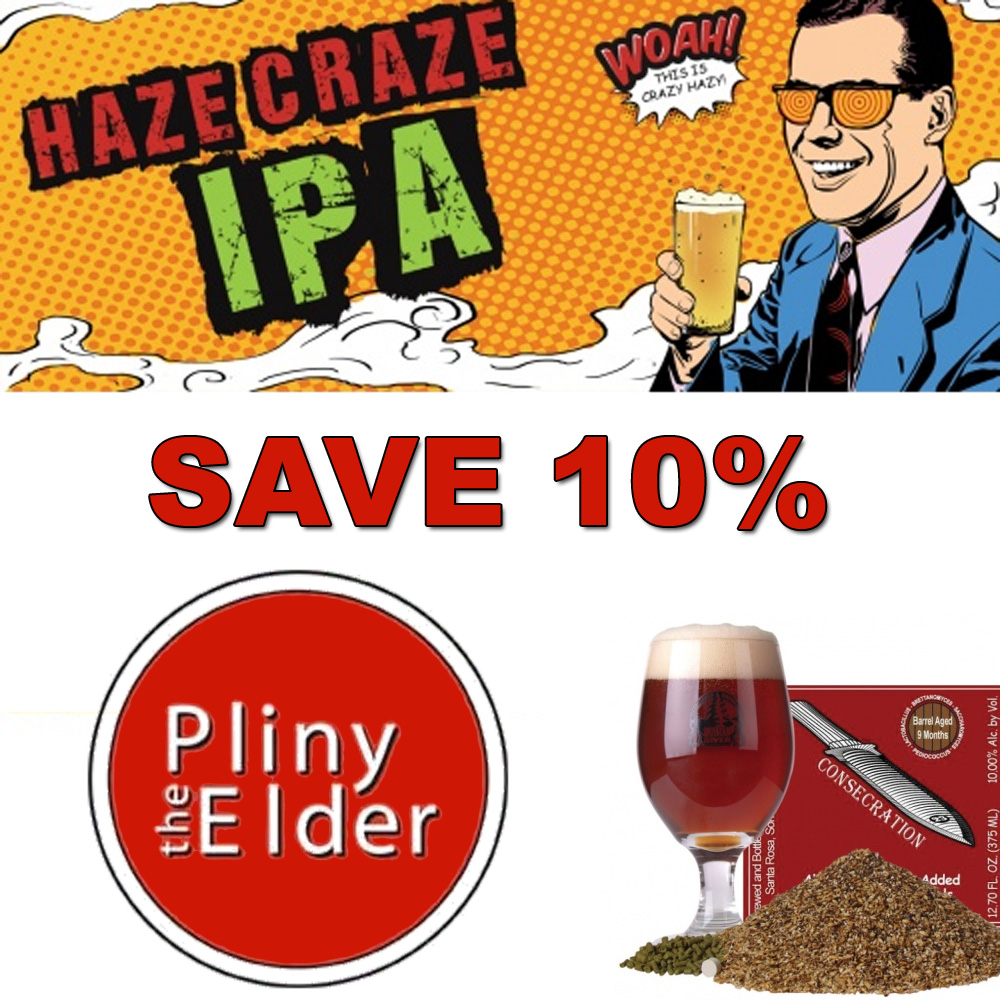 Happy Brew Year - Save 10% On All Beer Kits At MoreBeer Coupon Code