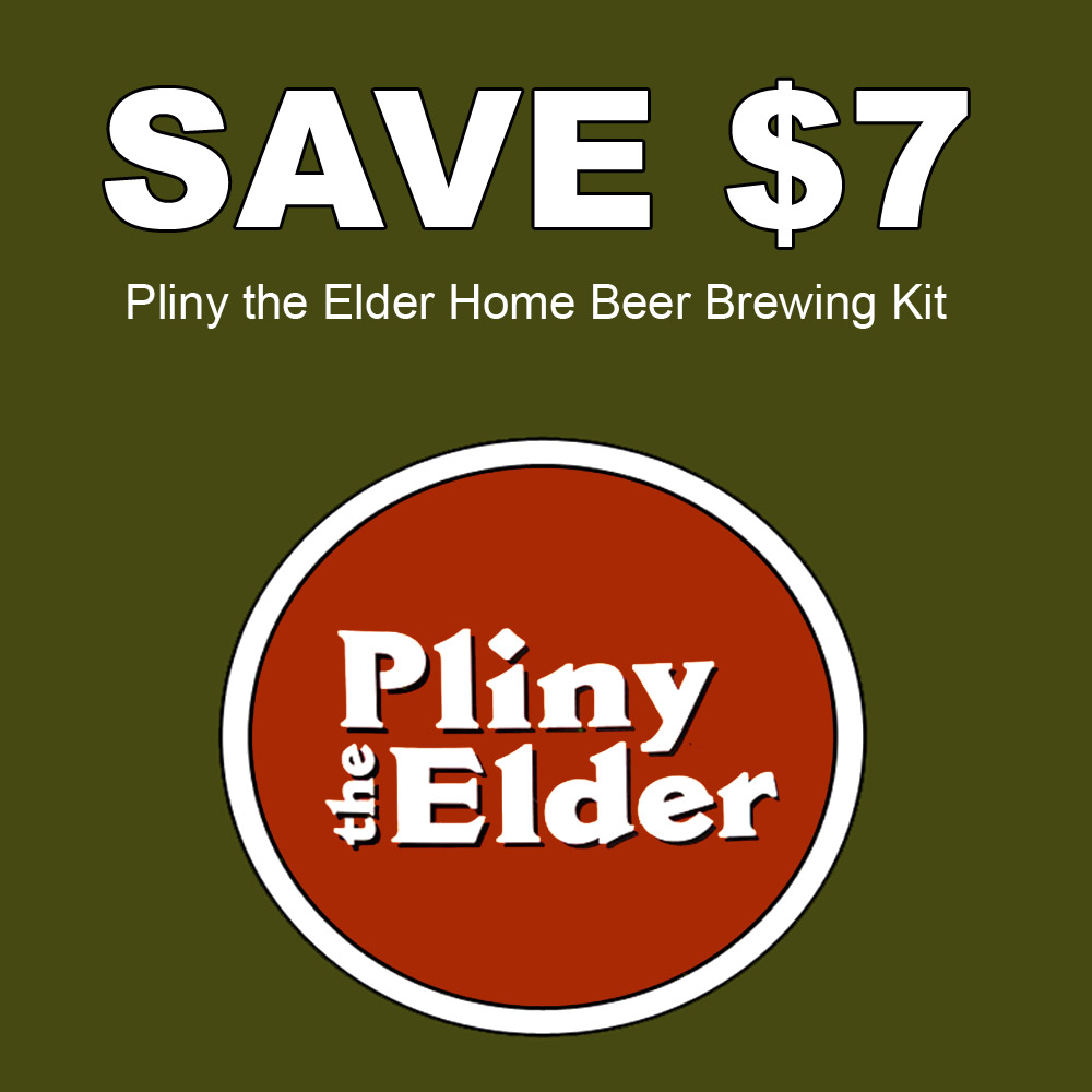 Save $7 On A Pliny the Elder Home Brewing Beer Recipe Kit Coupon Code