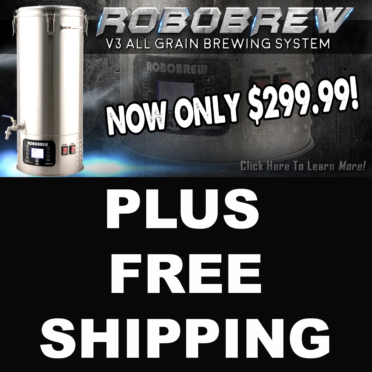 Get a RoboBrew for Just $299 Plus Free Shipping! Coupon Code