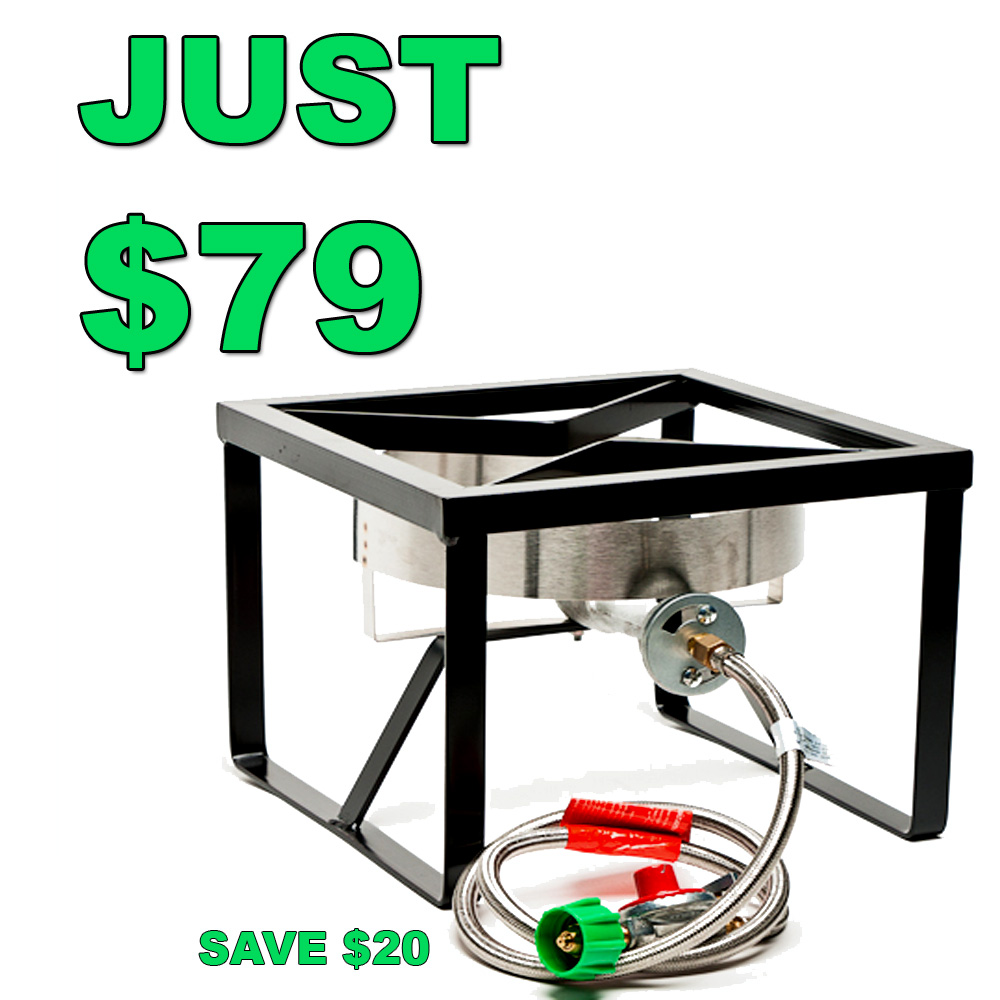 Save $20 On A Homebrewing Burner and Stand Sale