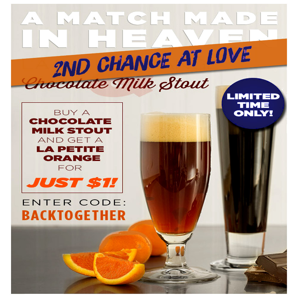 Get a $1 La Petite Orange Extract Beer Kit with Purchase of a Milk Stout Recipe Kit Coupon Code