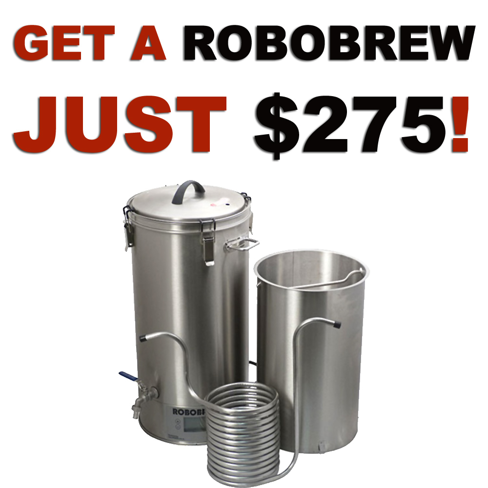 Get A RoboBrew for just $275!  Plus Free Shipping Coupon Code