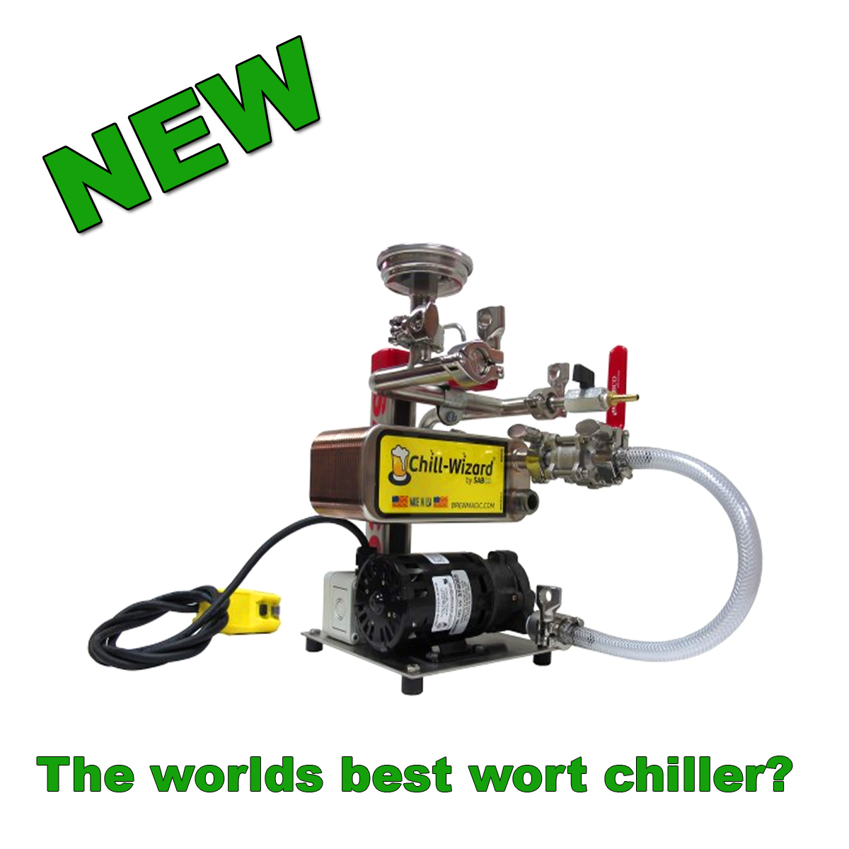 The Worlds Best Wort Chiller? Coupon Code