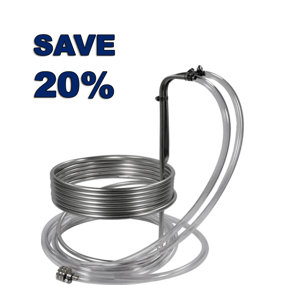 Save 20% On A Stainless Steel Wort Chiller Promo Codes