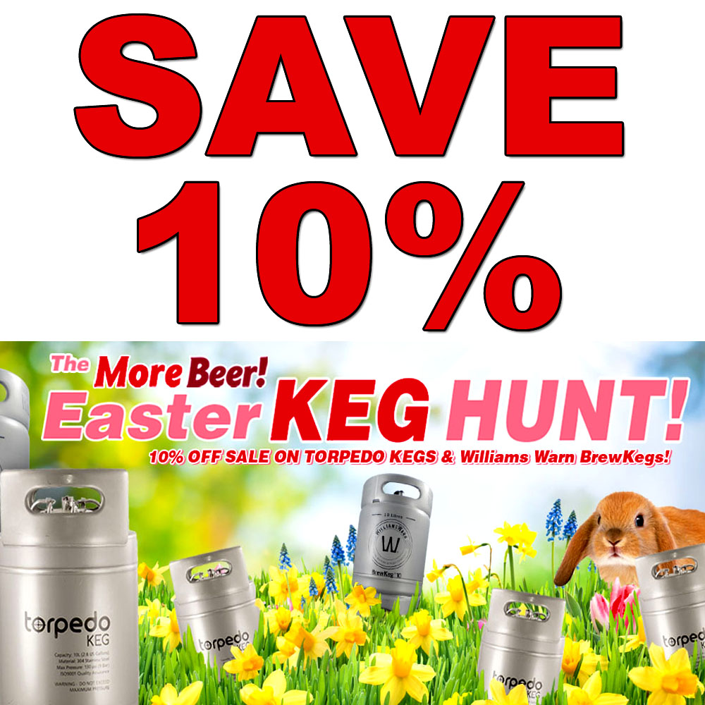 Save An Extra 10% On Beer Kegs Coupon Code