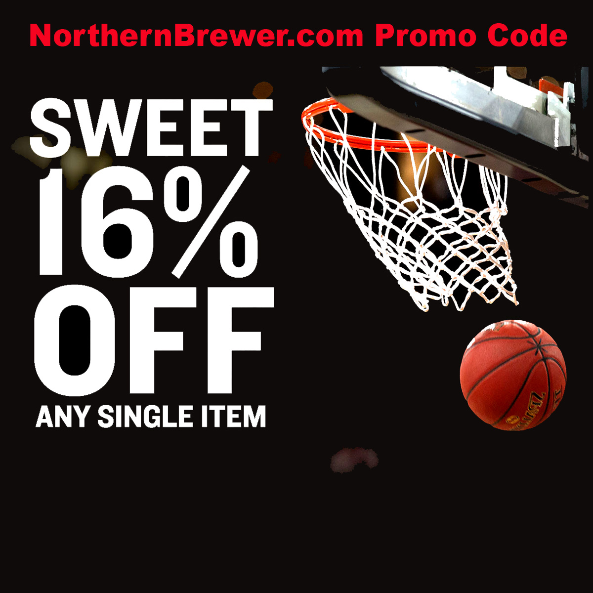 Northern Brewer Save 16% On Any Northern Brewer Item With This NorthernBrewer.com Promo Code Coupon Code