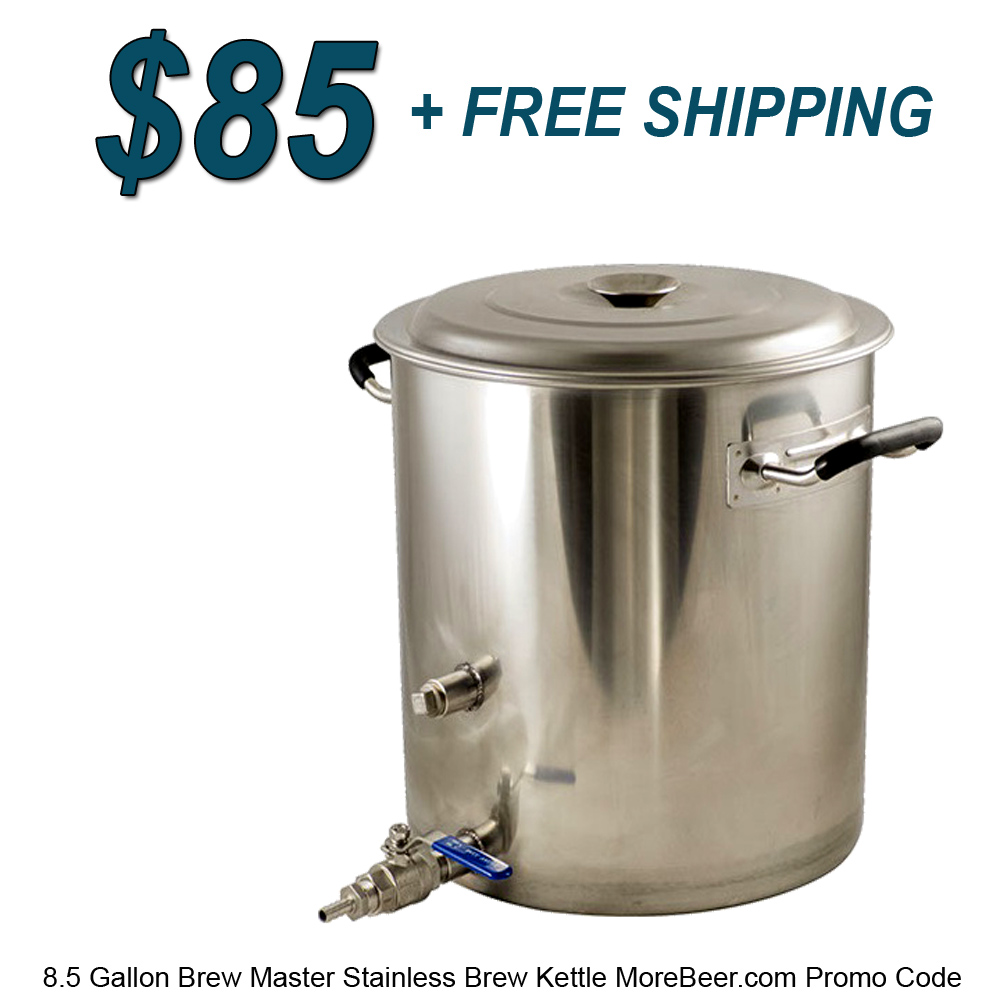 New 8.5 Gallon Brew Master Kettle for Just $84 Plus Free Shipping Coupon Code