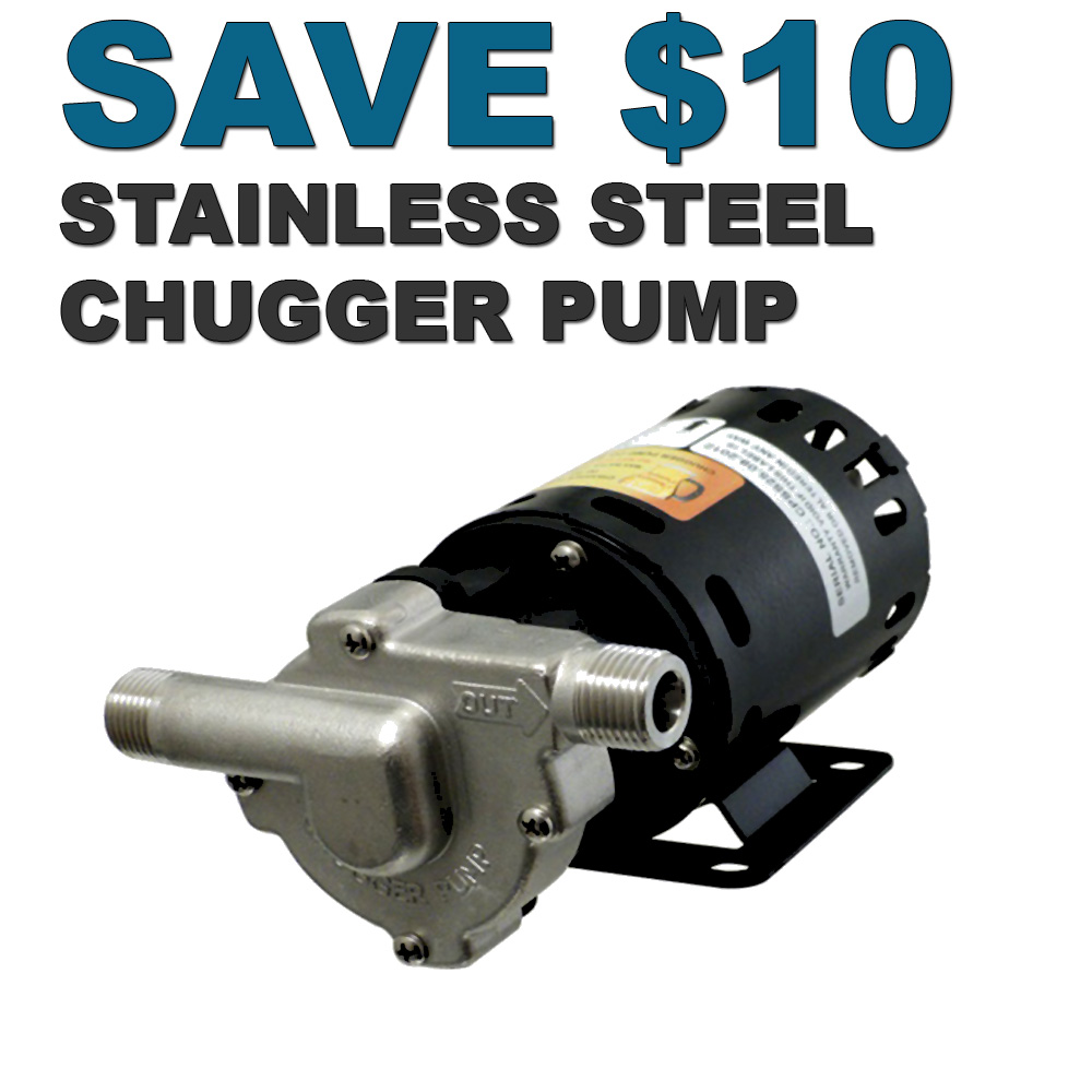 Save $10 On A Stainless Steel Chugger Pump Coupon Code
