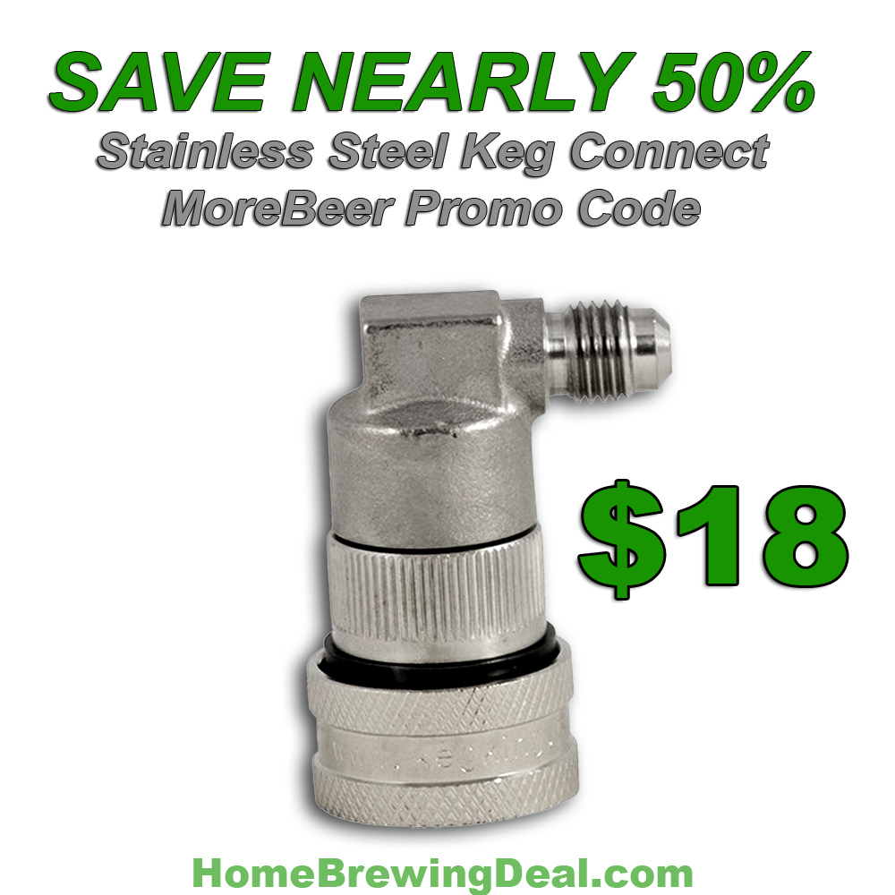 Save 45% On A Stainless Steel Keg Quick Disconnect  Coupon Code