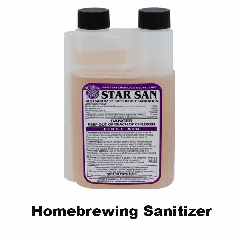 Save 25% On a 16oz Container of Star San Homebrewing Sanitizer Coupon Code