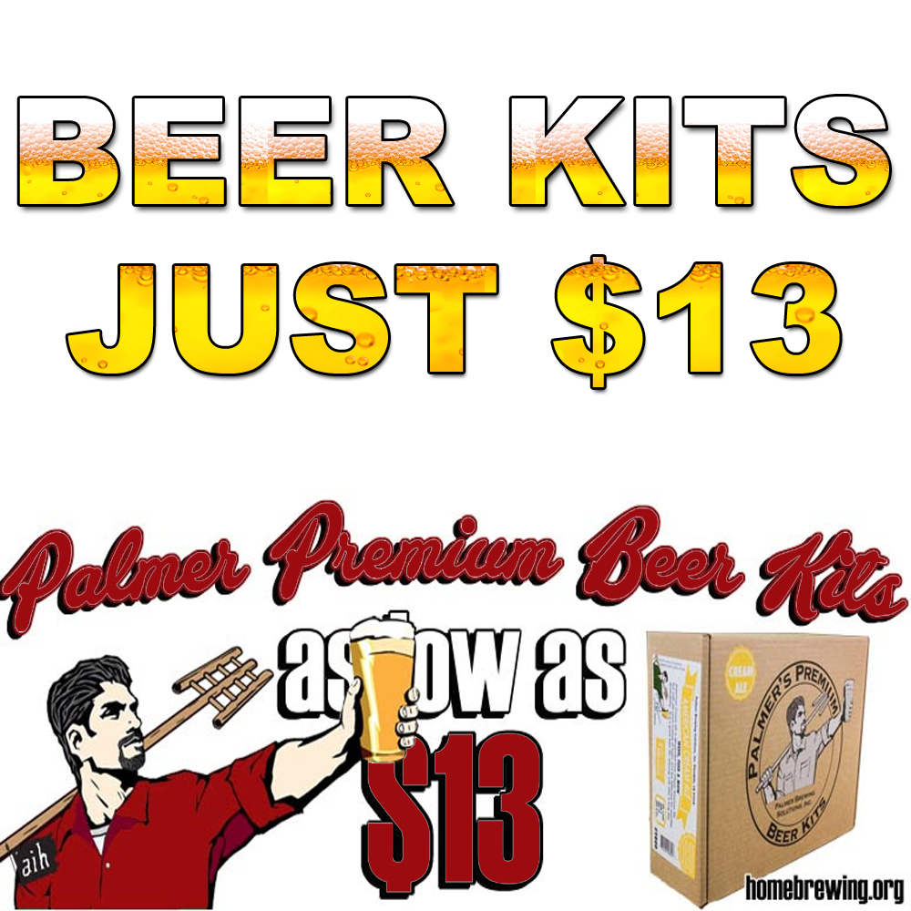 Get John Palmer Home Brewing Beer Kits For $13 Sale