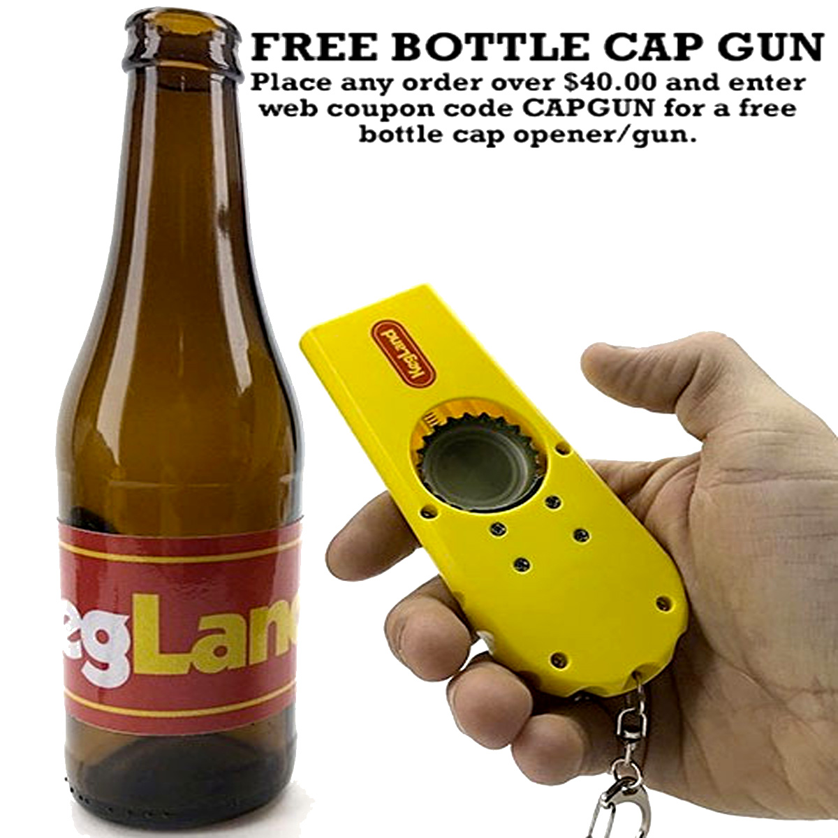 Williams Brewing Get a FREE Bottle Cap Gun with this WilliamsBrewing.com Promo Code for Williams Brewing Coupon Code