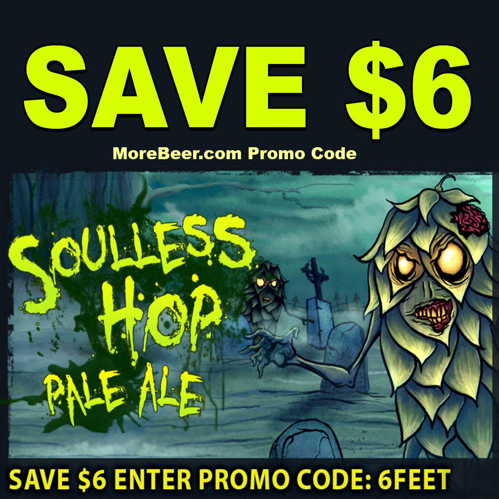 Save $6 On Each Zombie Dust Clone Beer Kit Coupon Code