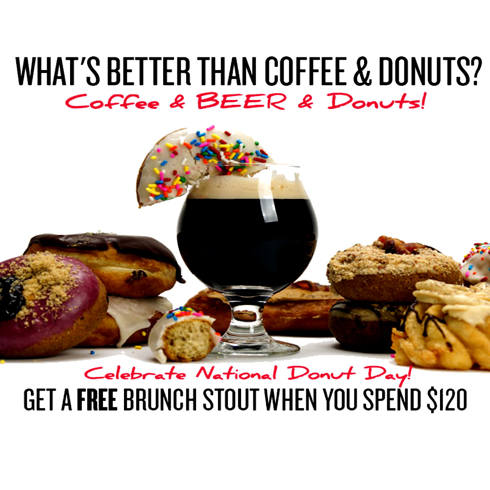 Get A Free Brunch Stout Beer Kit with Orders Over $120 Coupon Code