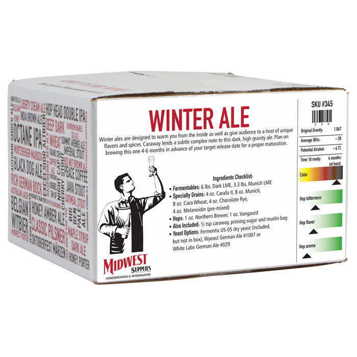 Buy a Winter Ale Beer Kit and Get a Free Happy Holiday Ale Beer Kit! Coupon Code